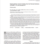 Hydrocephalus research funding from the National Institutes of Health: a 10-year perspective
